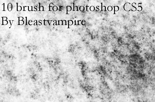 10 brush for photoshop cs5 by Bleastvampire by TheBlastvampire