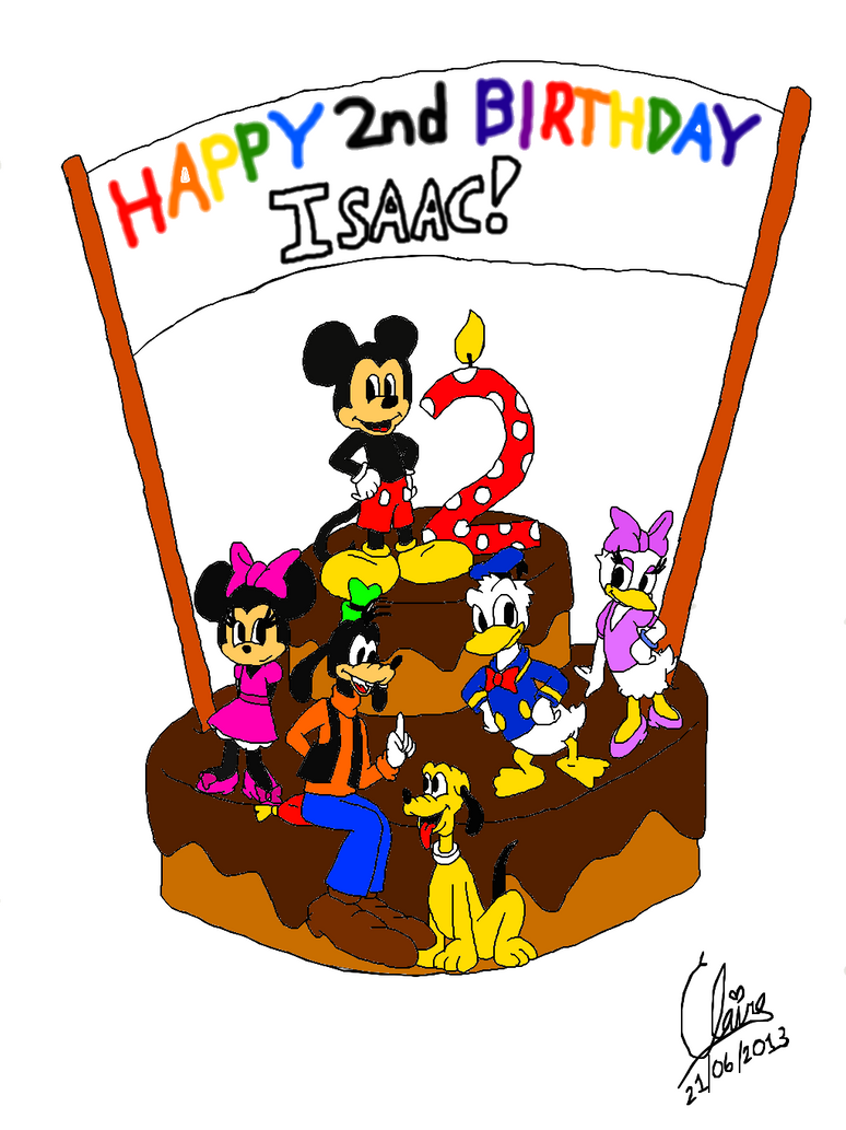 A Birthday Cake For My Little Cousin By Metheunawesome14 On Deviantart