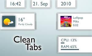 Clean Tabs 1.1 by TobiMcCan