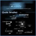 Quote brushes