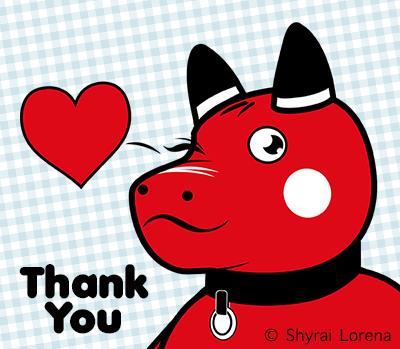 Thank You! - Akabeko