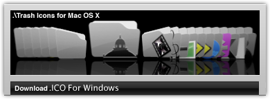 Trash Icons For Windows by Staxxy