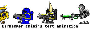Warhammer 40k chibi test