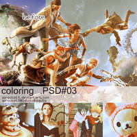 coloring psd 3 by airockz69