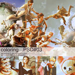 coloring psd 3