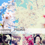 coloring psd 5