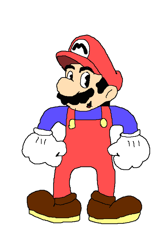 Super Mario (CupHead Styled) by Spongecat1