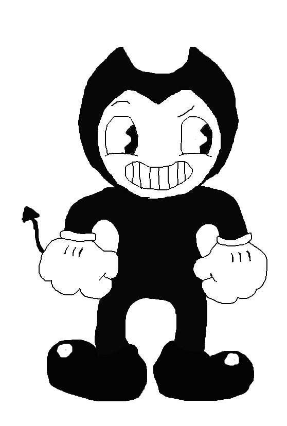 Bendy (CupHead Styled) by Spongecat1