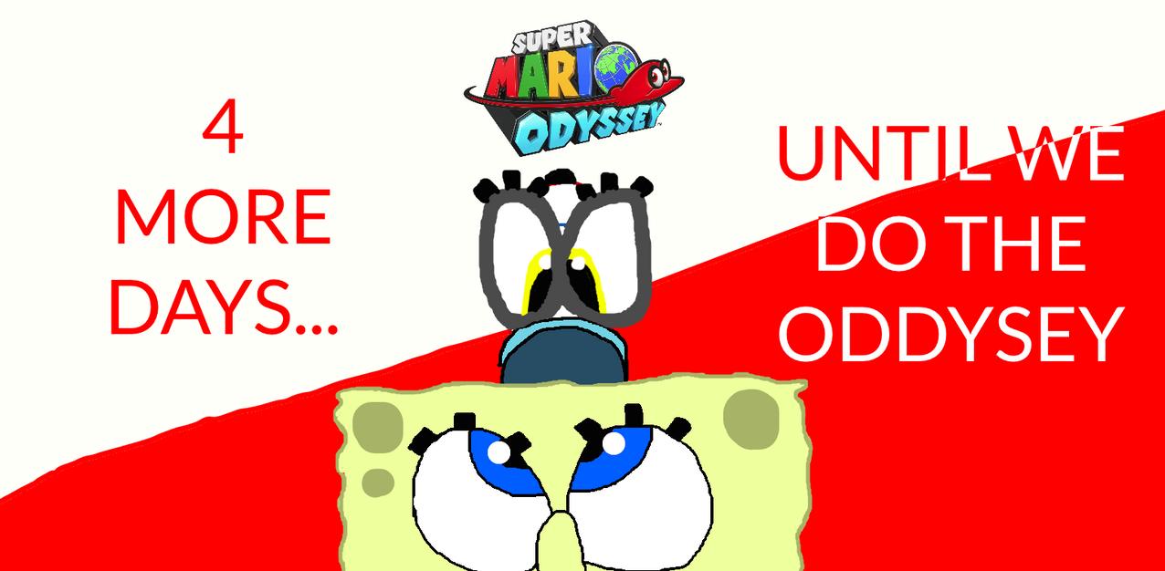 Oddysey Countdown (4 Days Left) by Spongecat1