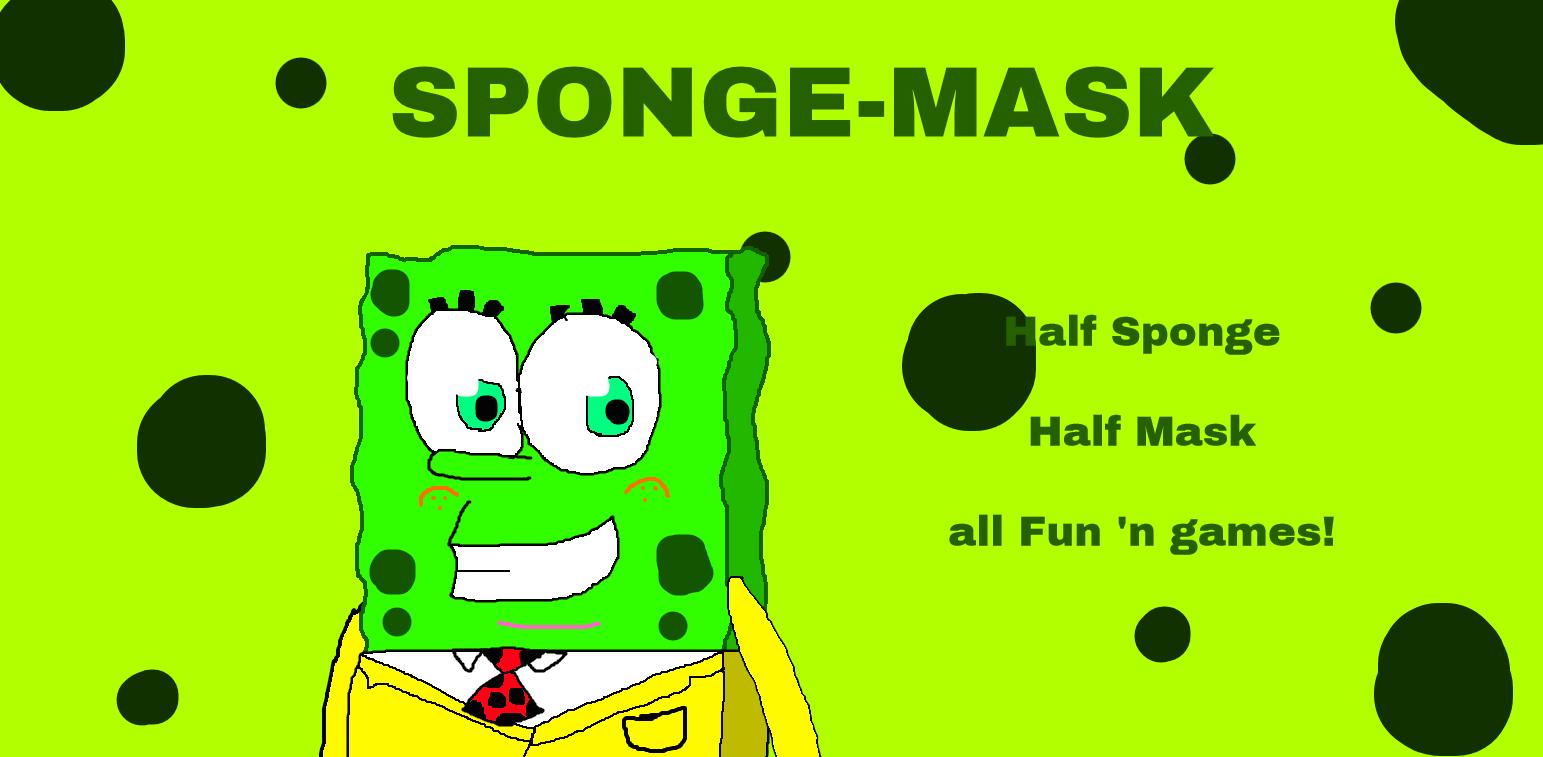 The Sponge-Mask by Spongecat1