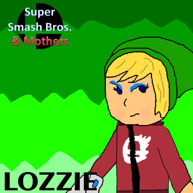 Smash Bros. and Mothers Poster (Lozzie) by Spongecat1