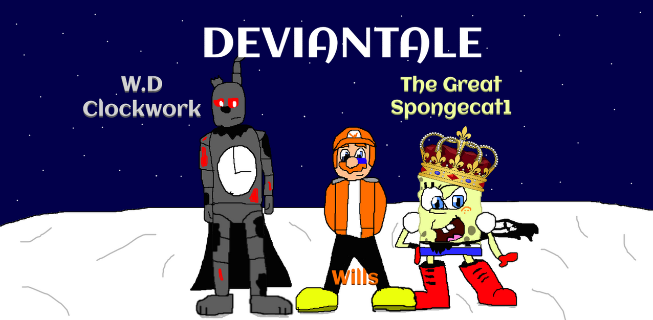 The Bros. (DEVIANTALE) by Spongecat1