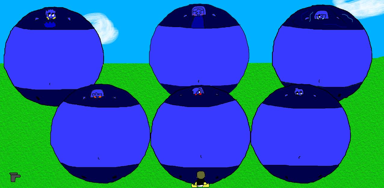 6 Blueberries by Spongecat1