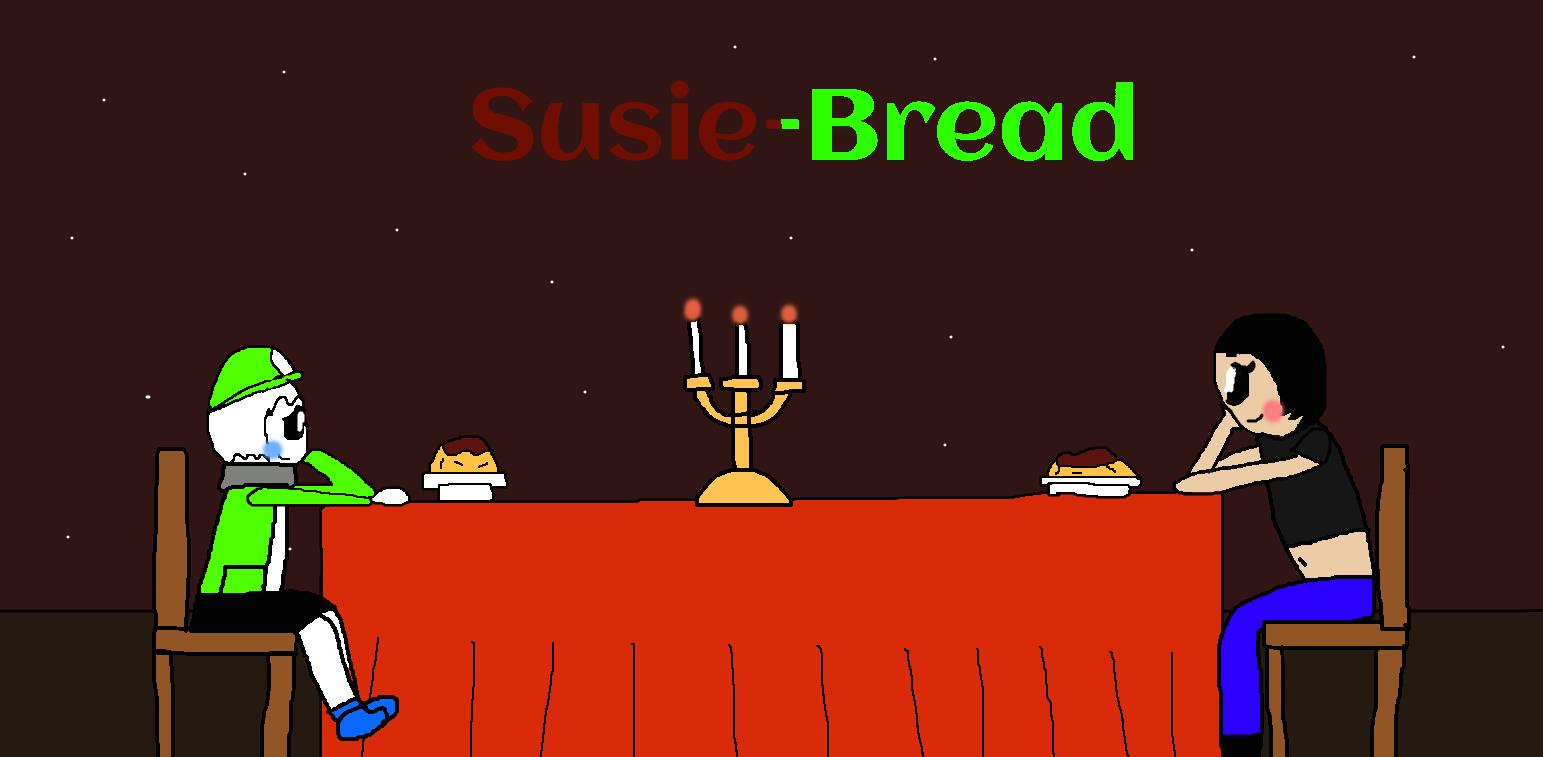 Susie-Bread's Date by Spongecat1