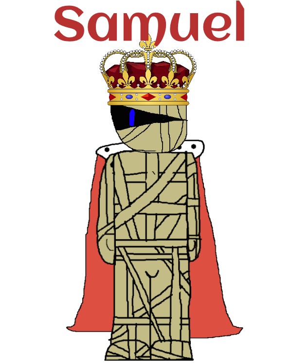 Gift Character: Samuel the Mummy King! by Spongecat1
