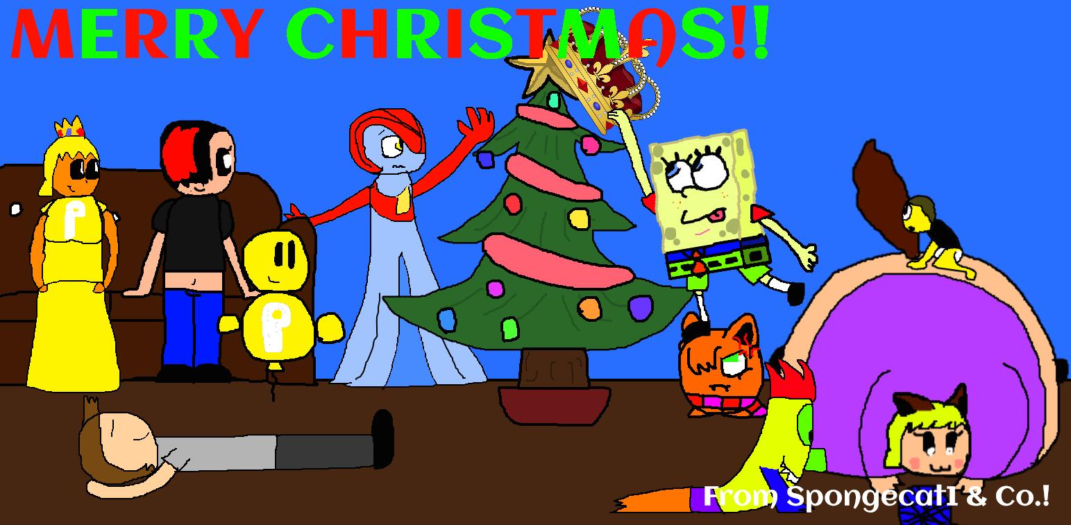 Merry Christmas!! by Spongecat1