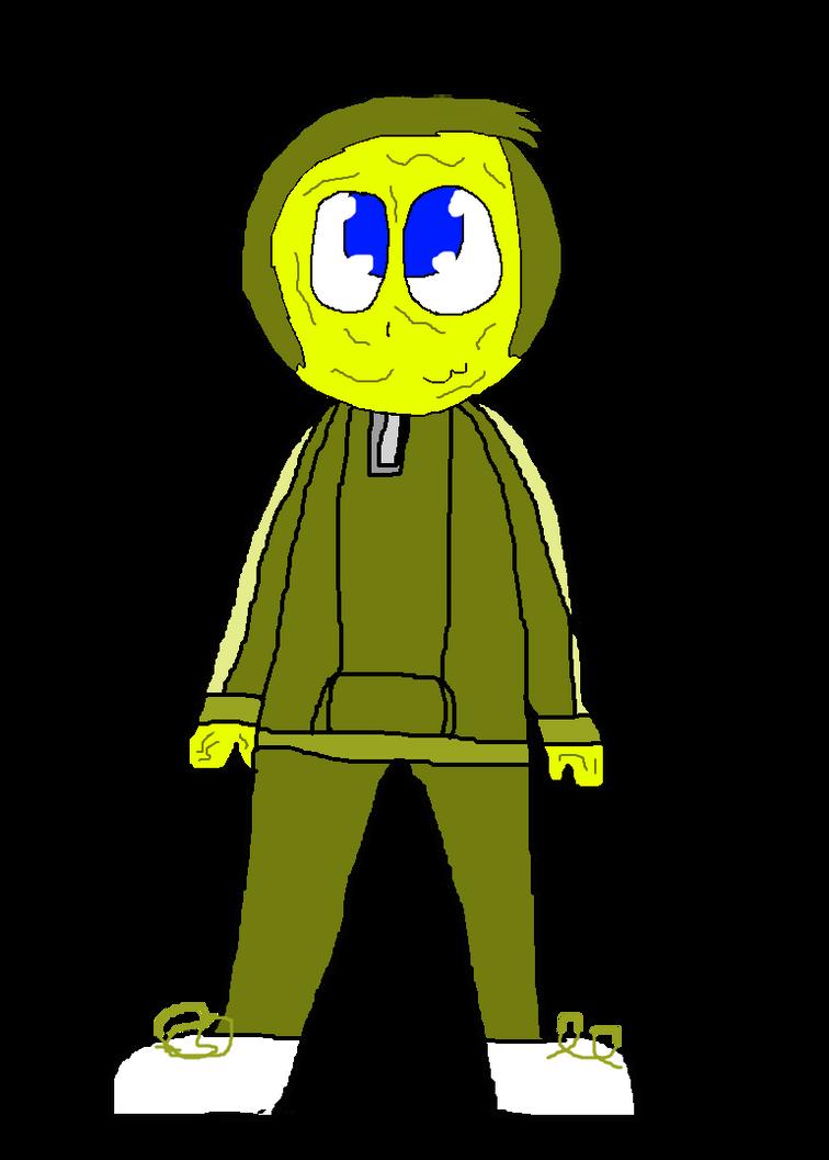 [D-OC-C]: Alex-Slime in his tracksuit by Spongecat1
