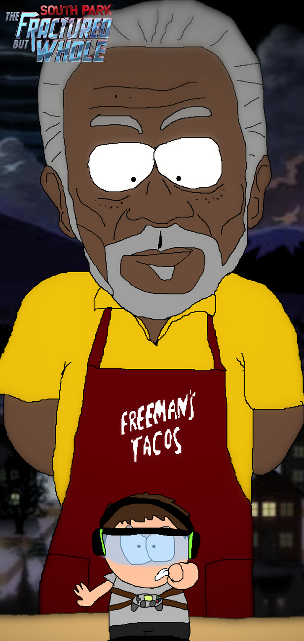 [D-TFBW]: Morgan Freeman by Spongecat1