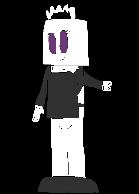 [OC]: Elizabeth the Cubehead Maid by Spongecat1