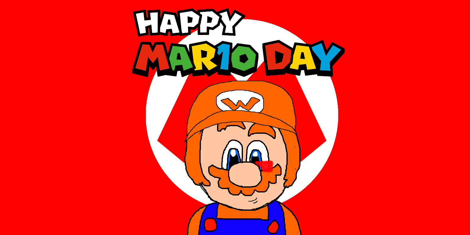 [D]: HAPPY MARIO DAY!! by Spongecat1