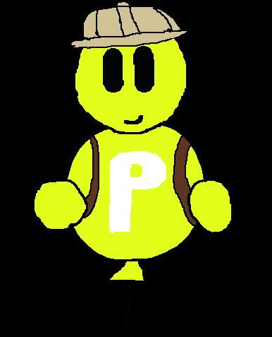 [Minor-OC]: Balloonian Explorer (Male) by Spongecat1