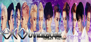 EXO Overdose PNG Pack by Jocy12