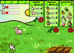 Kyoko Farm, Flash game