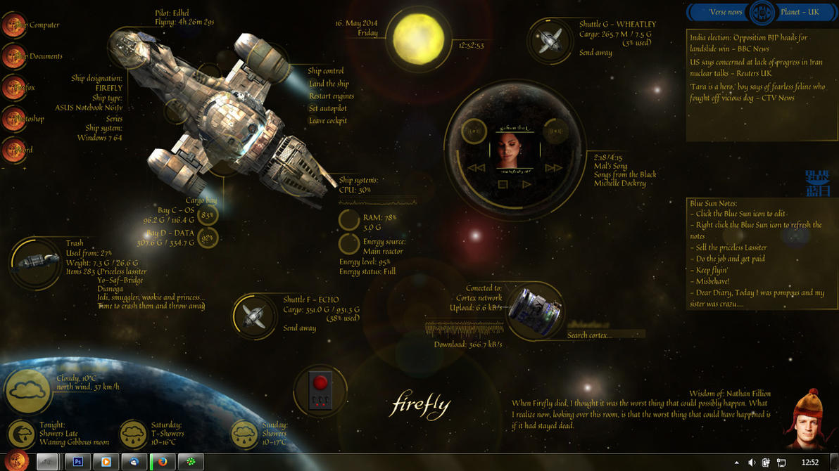 firefly wallpaper by squirrel - photo #2