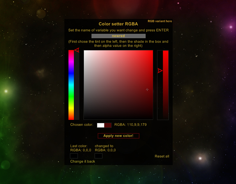 ColorSetter for Rainmeter by Squirrel-slayer