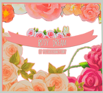 Rosy dream PNG pack