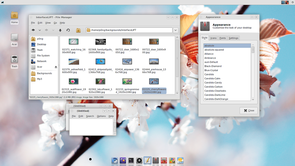 absolute for XFCE by p0ngbr