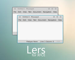 Lers for XFCE by p0ngbr