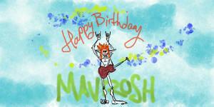 Aodh wish Mavrosh Happy Birthday