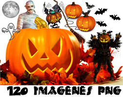 Halloween png pack