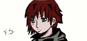 mistery boy/anime