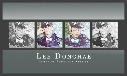 Lee DonghaeICON by CriteriaU2