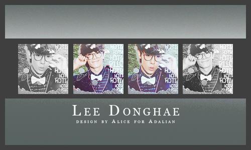 Lee DonghaeICON by CriteriaU2