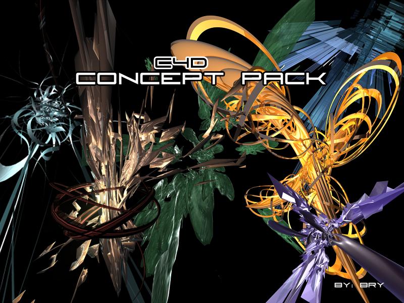 C4D Concept Pack by Revelatus