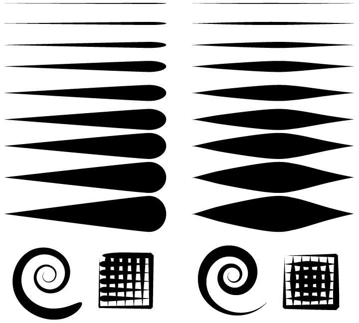 Line Art Brushes Photo : Brush set by tanithal