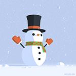 snowman by mclelun
