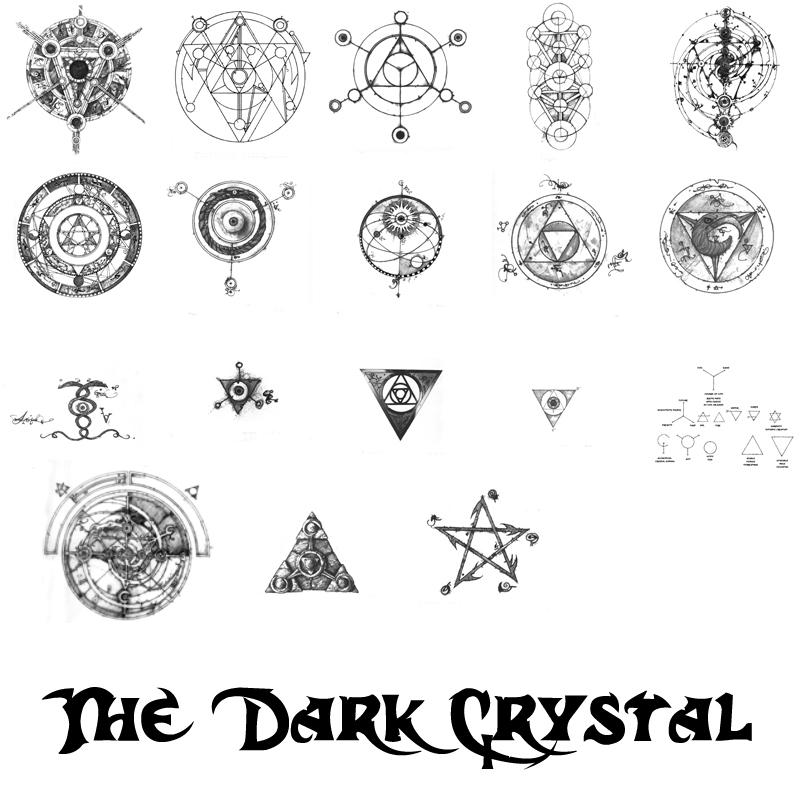 Dark Crystal Symbols By Paradoxstock On Deviantart
