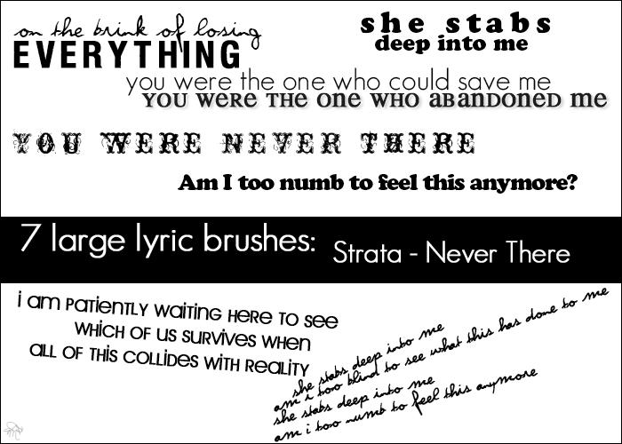 Strata large lyric brushes by IbeLIEve6277
