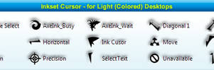 Ink Set cursors by Viscocent