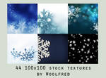 Icon textures - snowflakes