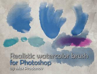 Max Watercolor Brushes by maxprodanov