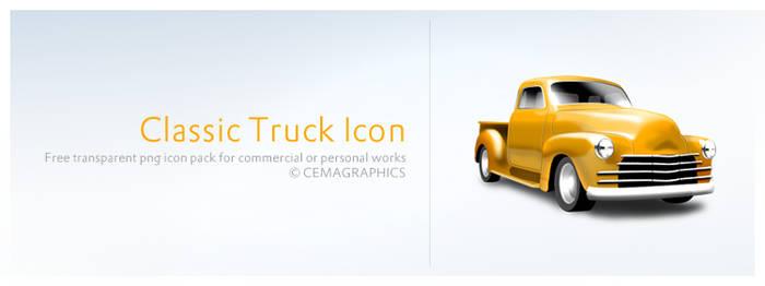 Classic Truck Icon