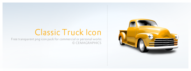 Classic Truck Icon by cemagraphics