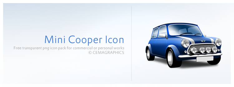 Mini Cooper Icon by cemagraphics