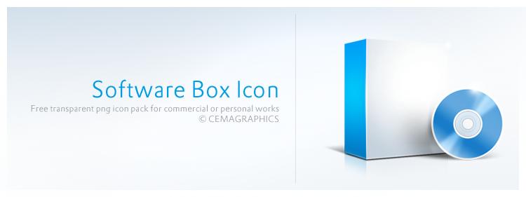 Software Box Icon