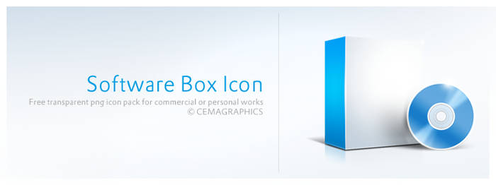 Software Box Icon
